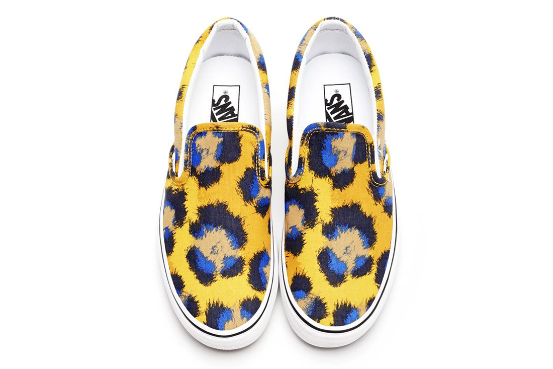 kenzo x vans 2013 spring summer footwear