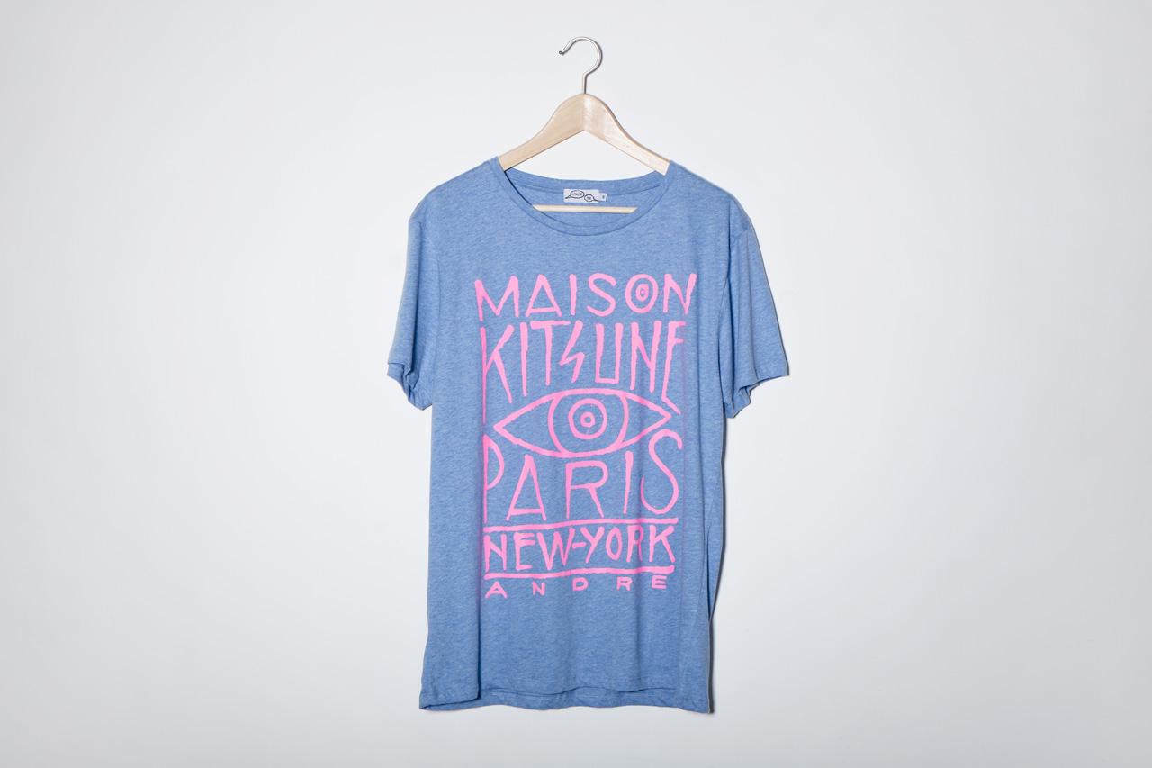Kitsuné Tee 2013 Spring/Summer T-Shirt Collection