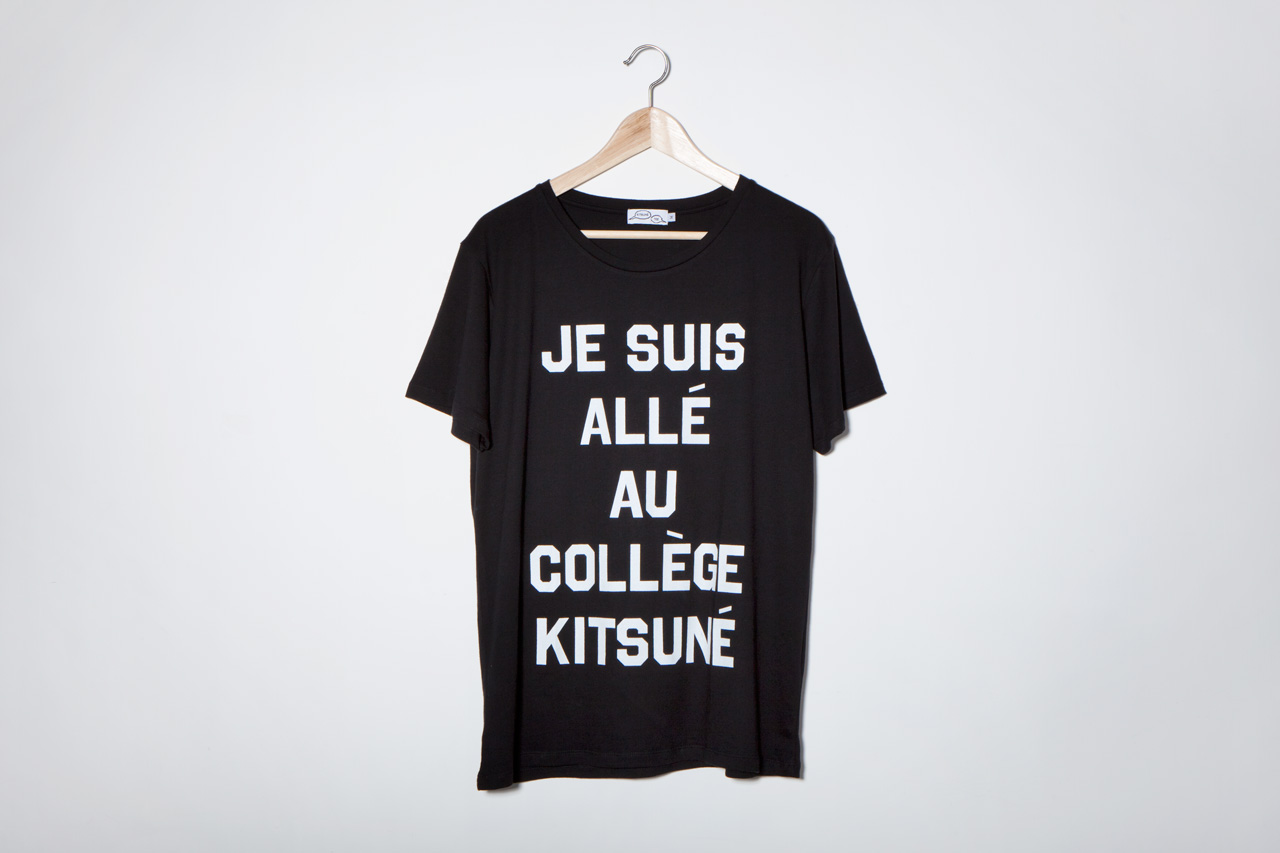 Kitsuné Tee 2013 Spring/Summer T-Shirt Collection