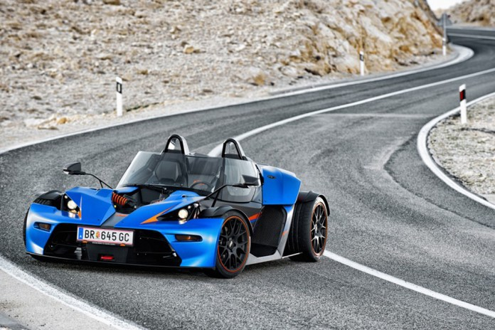 KTM X-Bow to Feature the Audi TT RS Five-Cylinder Turbo Under the Hood