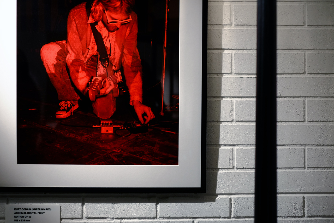 "Jesse Frohman ""KURT"" Exhibition @ Opening Ceremony Tokyo"