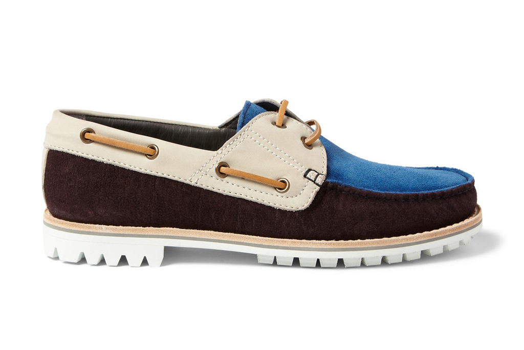 Lanvin 2013 Spring/Summer Suede and Nubuck Boat Shoes