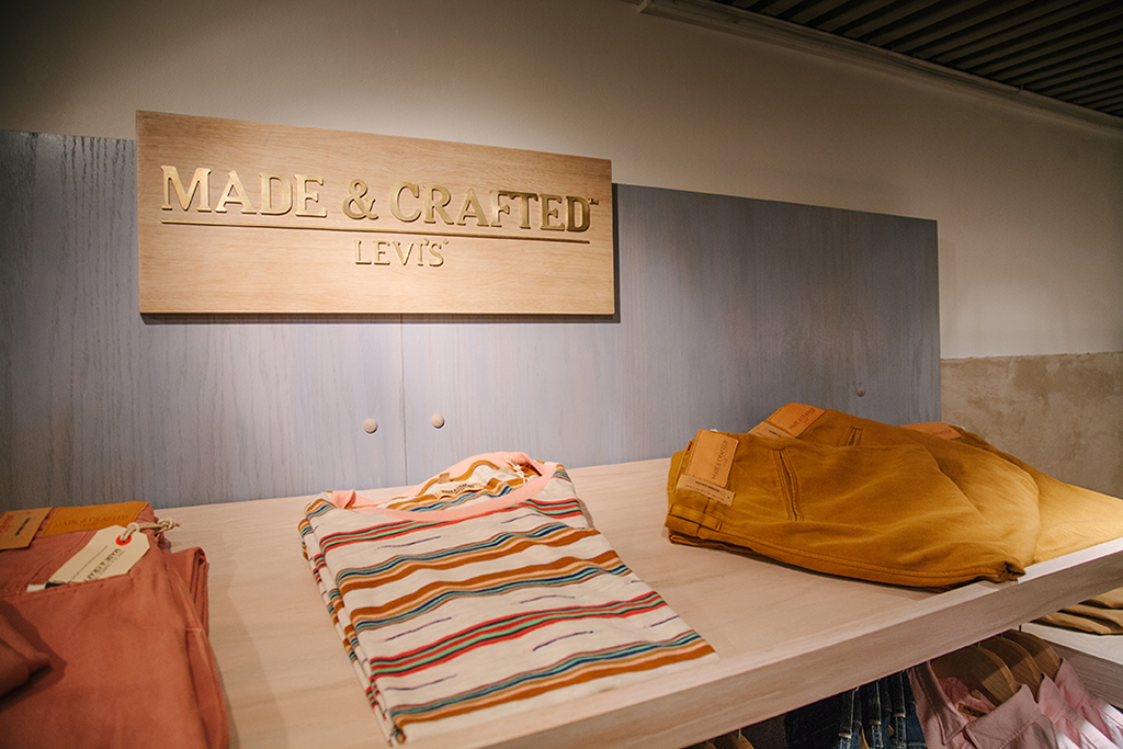 levis made crafted x uncle otis shop in shop