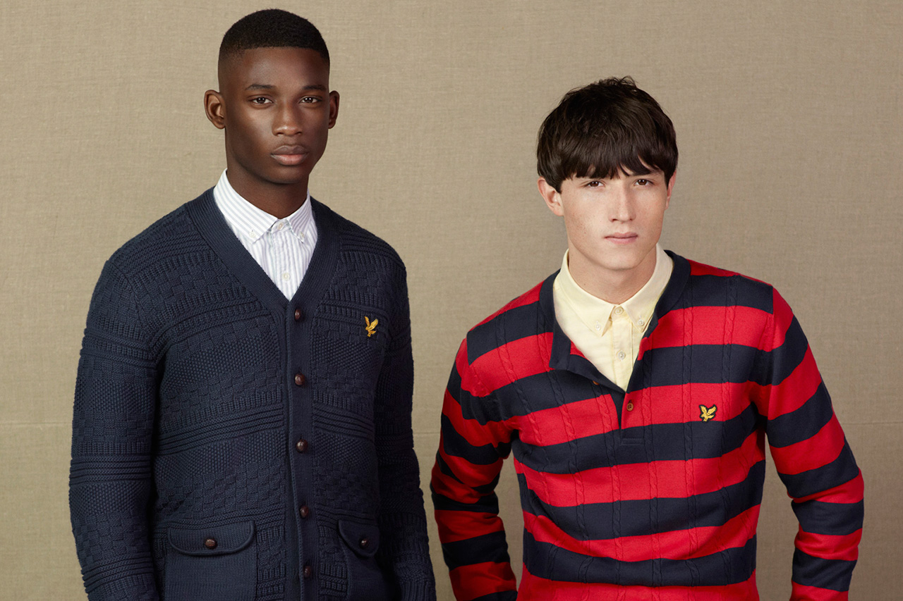 Lyle & Scott 2013 Spring Lookbook