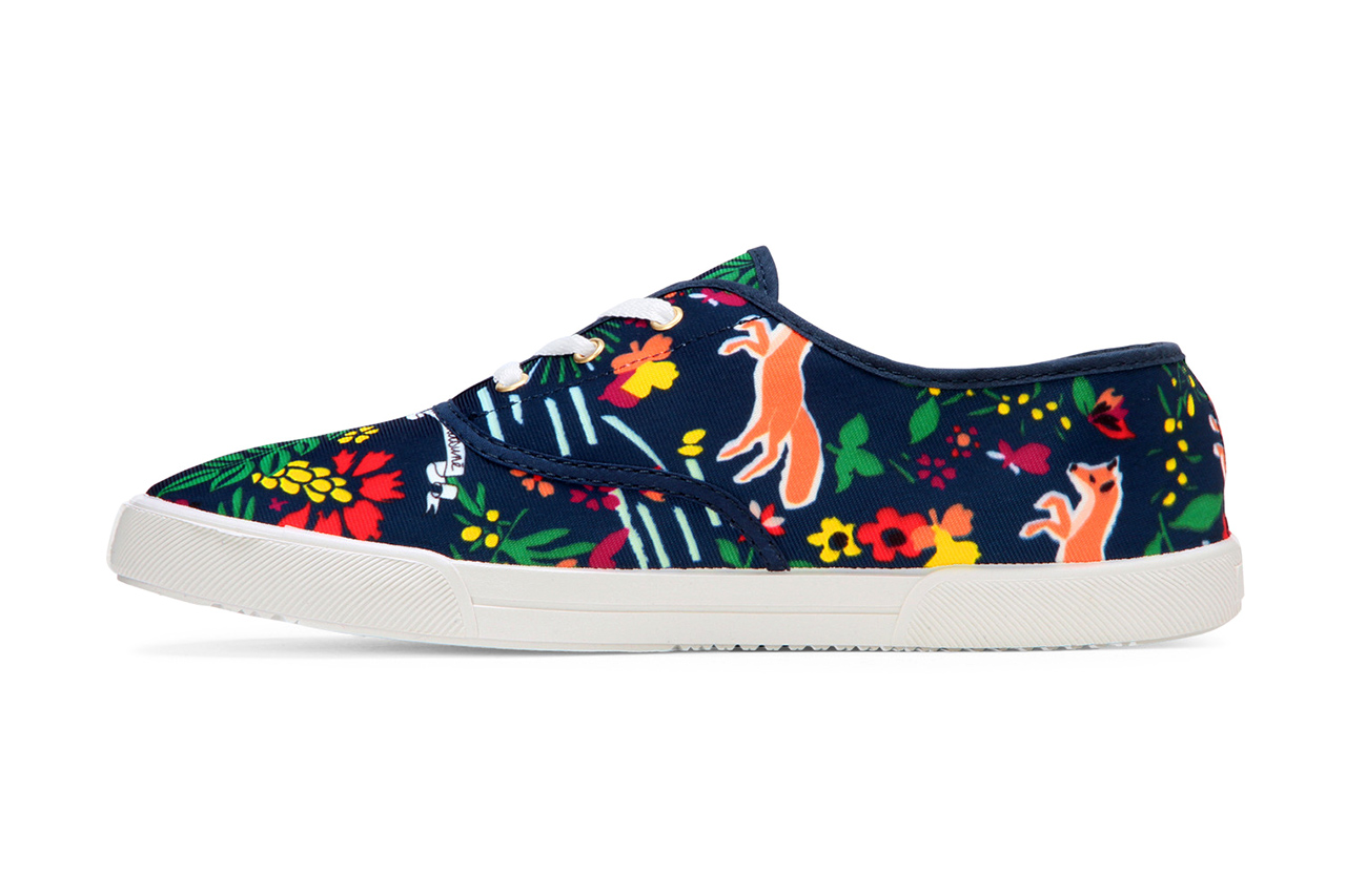 Maison Kitsuné Absinthe Printed Sneaker