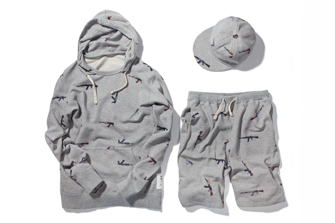 """Mark McNairy for Heather Grey Wall """"AK47"""" Collection"""