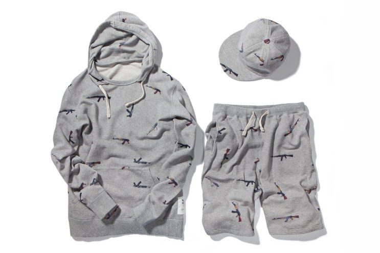 "Mark McNairy for Heather Grey Wall ""AK47"" Collection"