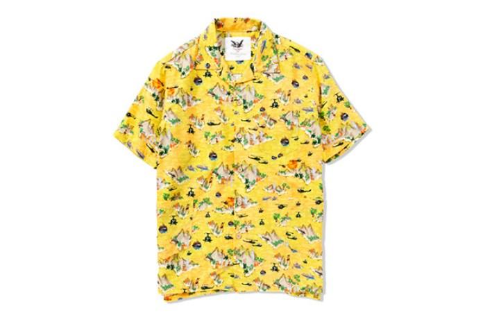 Mark McNairy for Heather Grey Wall 2013 Spring/Summer Aloha Shirt