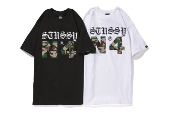 mastermind JAPAN x Stussy 2013 Spring/Summer Camo N°4 T-Shirt