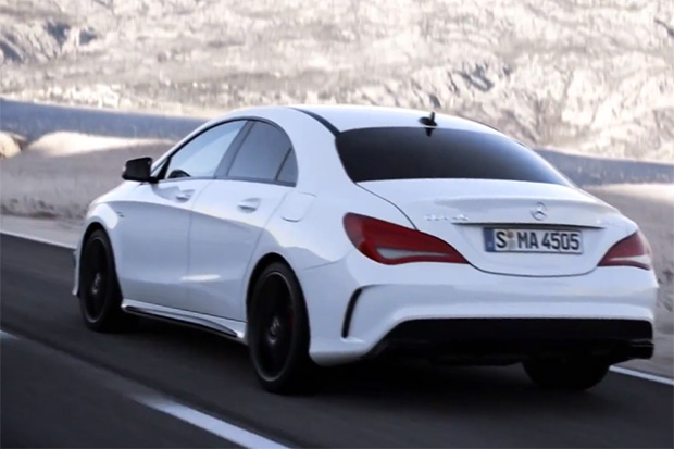Mercedes-Benz Further Highlights Its 2014 CLA 45 AMG with a New Video
