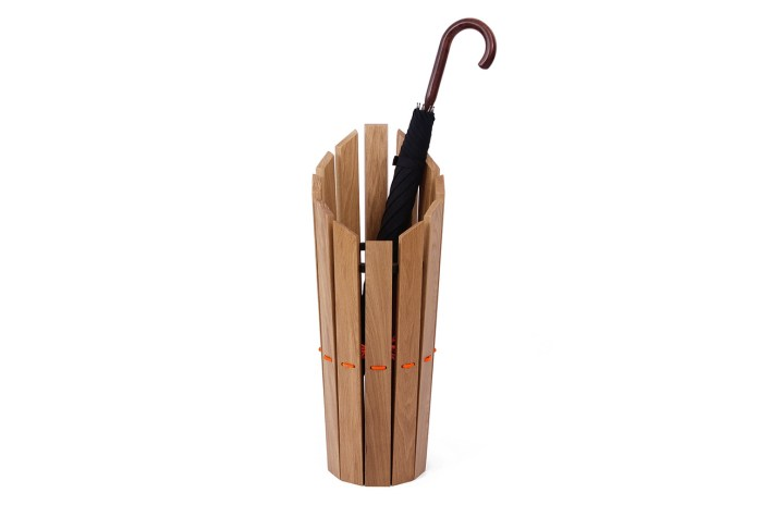 Method Studio x London Undercover Oak Umbrella Stand