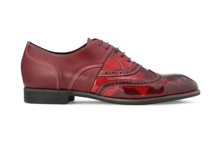 MIHARAYASUHIRO 2013 Spring/Summer Overdye Wingchip Shoes