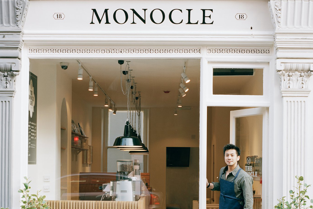 Monocle London Café Grand Opening