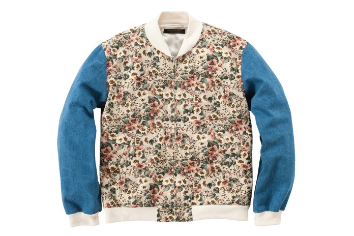 Mr. GENTLEMAN 2013 Spring/Summer Floral Zip-Up Jacket