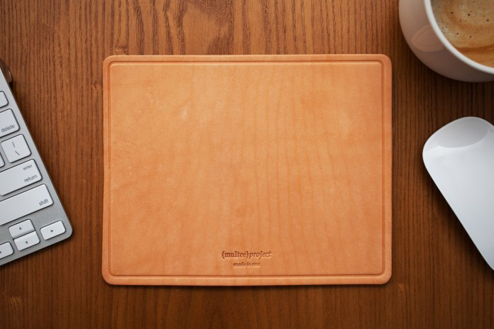 (multee)project Leather Mouse Pads