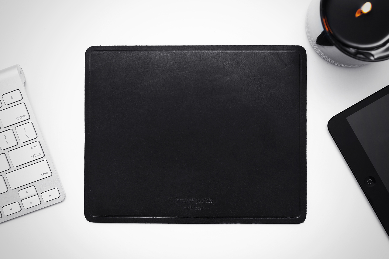multeeproject leather mouse pads