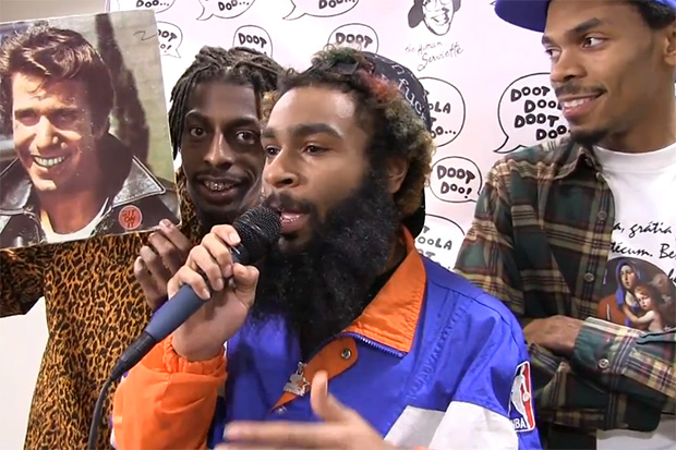 Nardwuar vs. Flatbush Zombies
