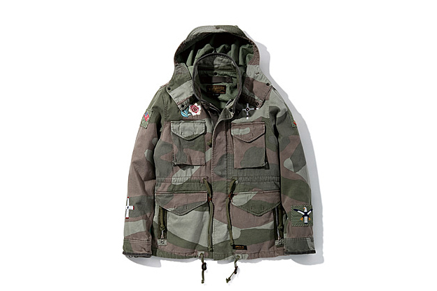 neighborhood 2013 spring summer m 65 camo emb c jkts