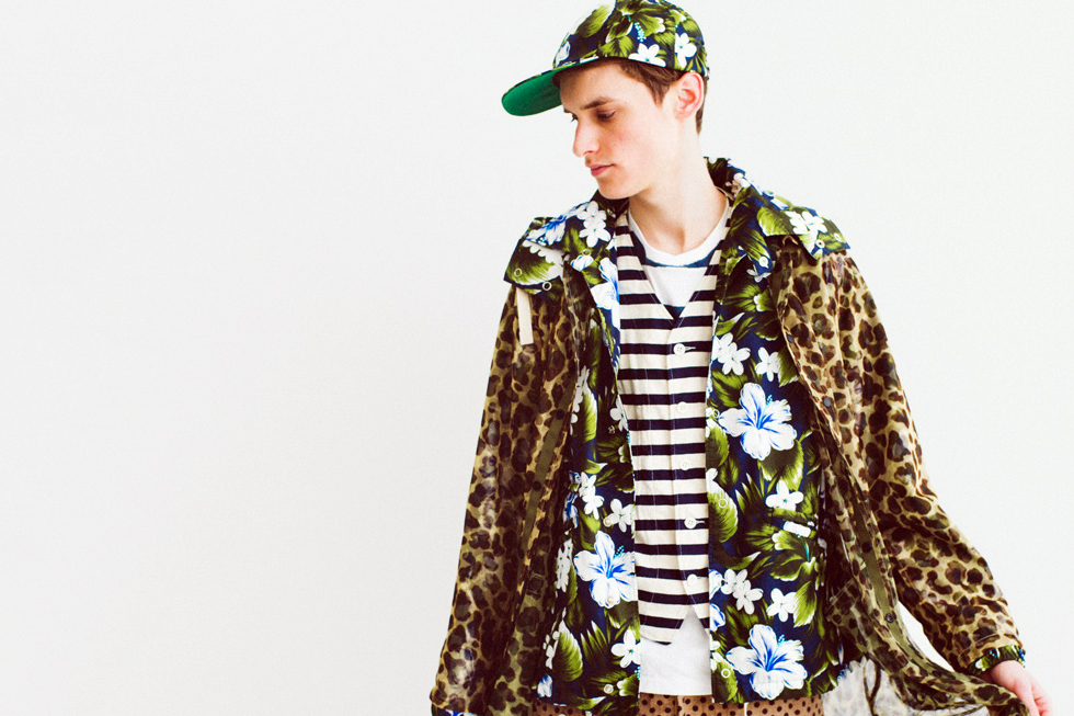 "NEPENTHES 2013 Spring/Summer ""Pattern Chasing"" Lookbook"