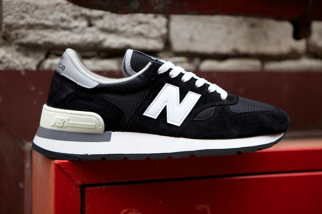 new balance 990 made in usa black