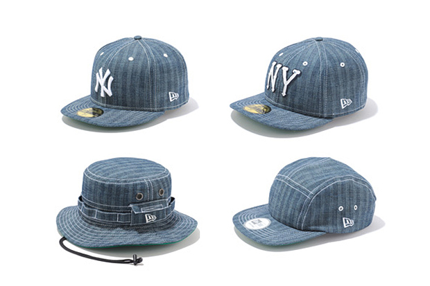 New Era Japan 2013 Spring/Summer Denim Herringbone Collection