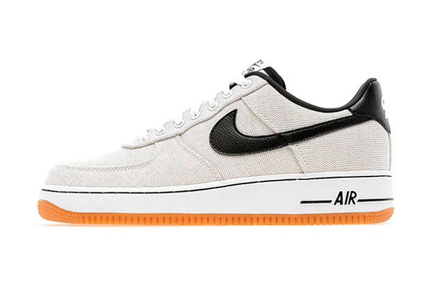 Nike 2013 Spring/Summer Air Force 1 Low White Canvas