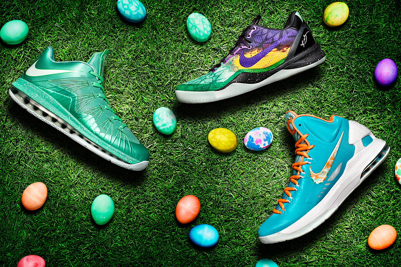 Nike Basketball 2013 Easter Footwear Collection
