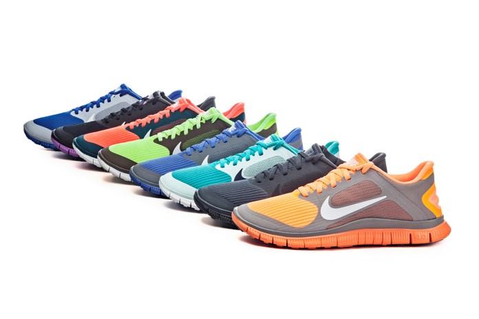 Nike Free 4.0 v2 2013 Spring/Summer Collection