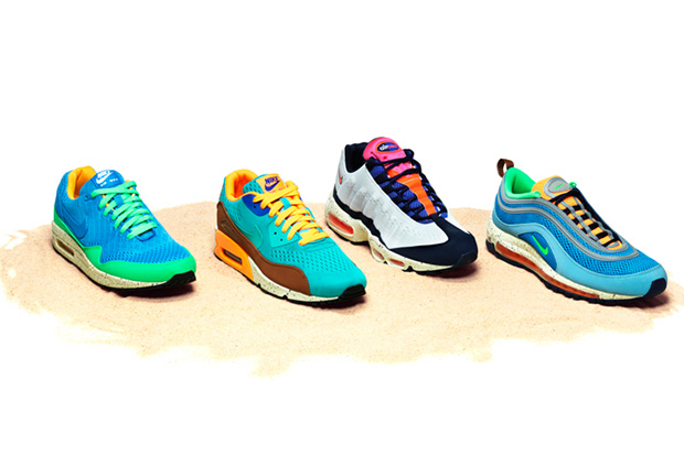 nike 2013 spring summer air max beaches of rio pack