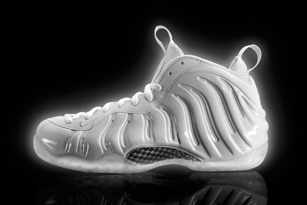 Nike Unveils the White-On-White Air Foamposite One