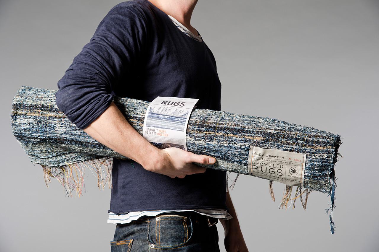 Nudie Jeans Post Recycled Denim Rugs