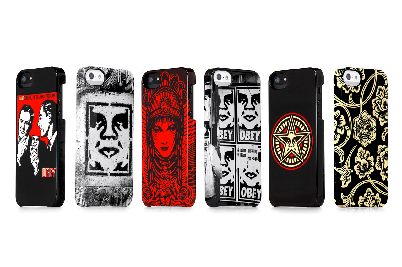 OBEY x Incase 2013 Spring iPhone 5 Snap Case Collection