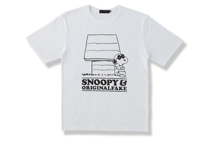 OriginalFake x Peanuts Joe KAWS Tee