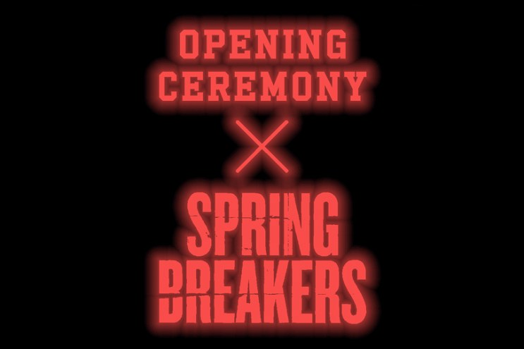 "Opening Ceremony and Todd ""REAS"" James Team Up with Spring Breakers"