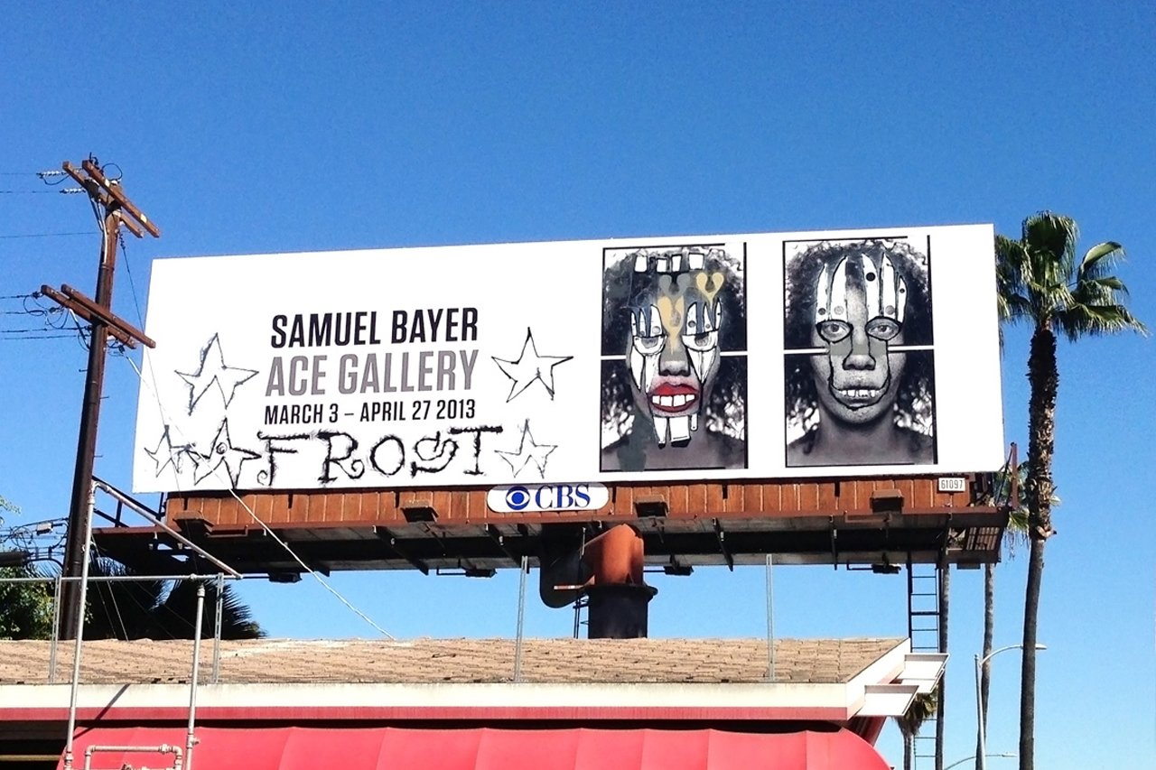 Phil Frost and Samuel Bayer's $50K USD Billboard Stolen in Los Angeles