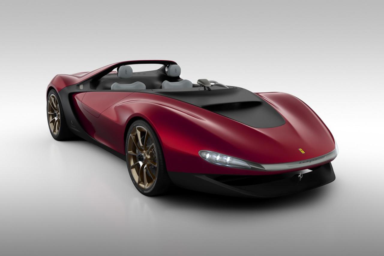 Pininfarina's Ferrari-Based Sergio Concept
