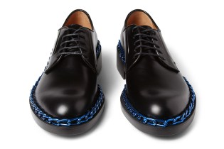 Raf Simons Chain-Trimmed Derby Shoes