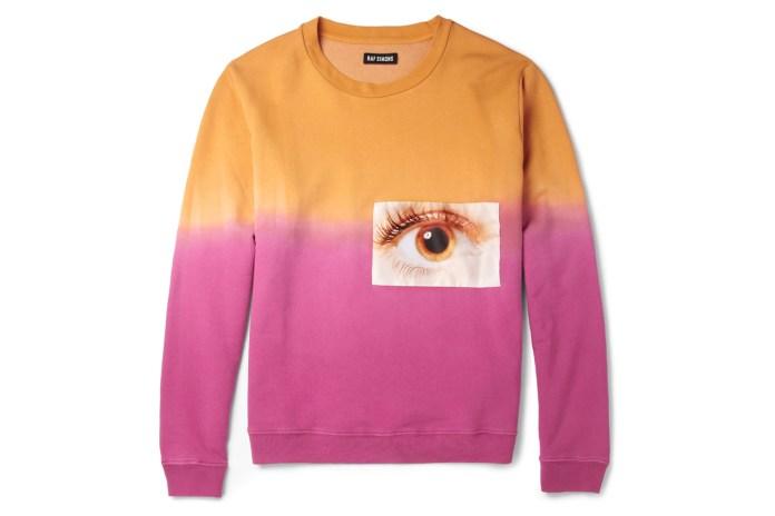 Raf Simons Printed Jersey Sweatshirt