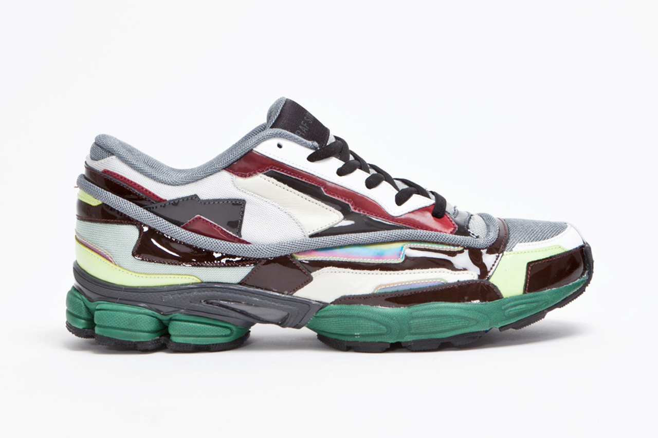 Raf Simons Panelled Running Shoe