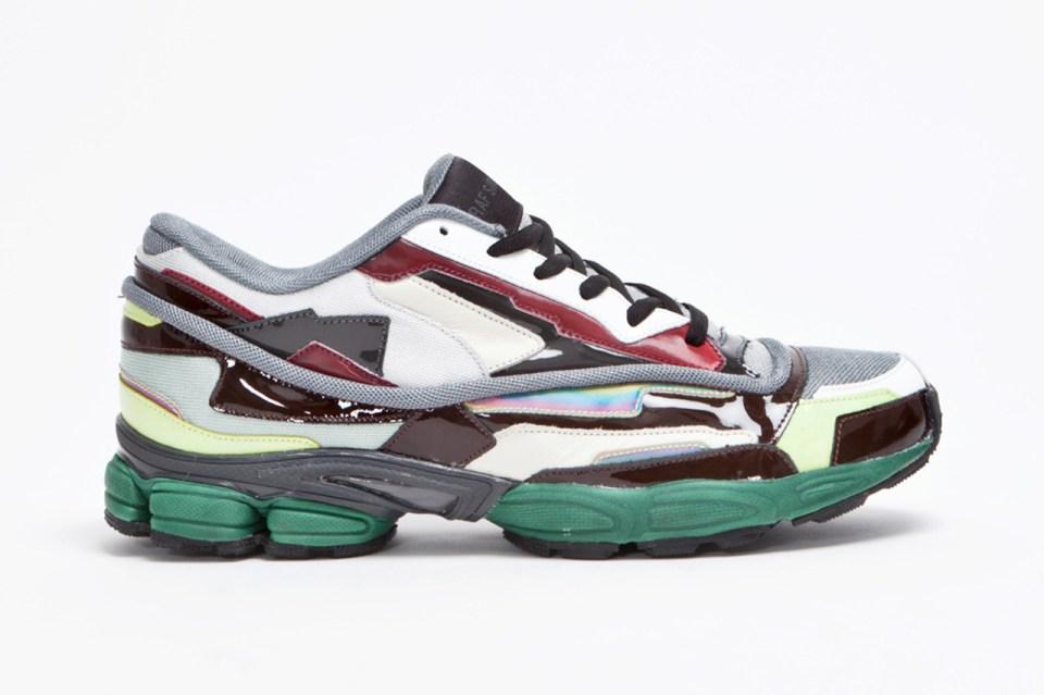 raf simons designer shoes raf simons panelled running shoe hypebeast