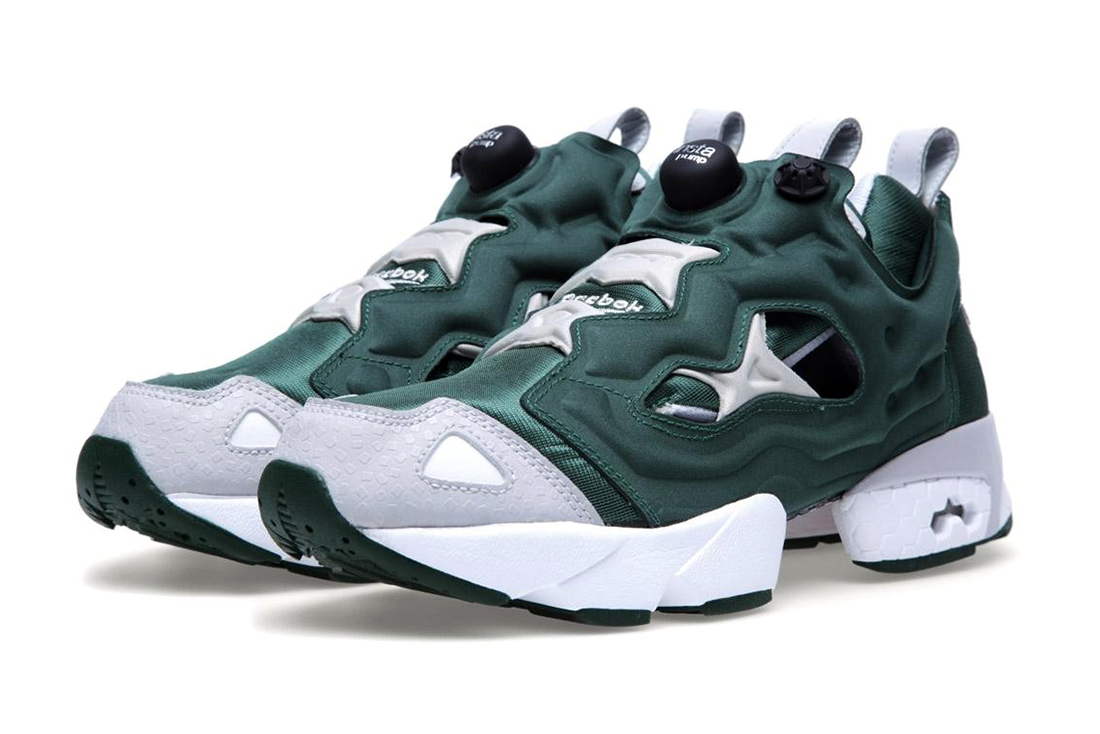 reebok insta pump fury racing green