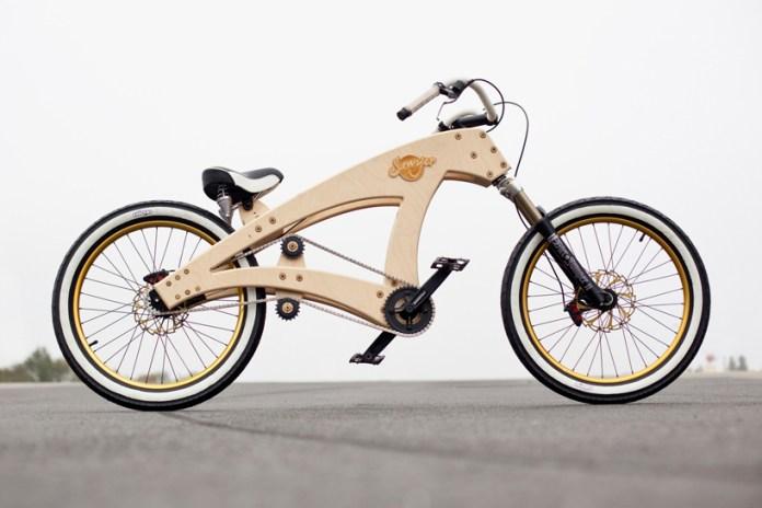 Sawyer DIY Lowrider Beach Cruiser Bicycle by Jurgen Kuipers