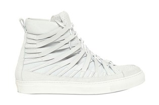 Damir Doma 2013 Spring/Summer Cut Out & Embossed Leather Sneakers