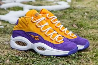 """Sneakersnstuff x Reebok Question Mid """"The Crocus"""""""