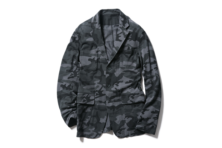 SOPHNET. 2013 Spring/Summer Camouflage Seed Stitch Jacket