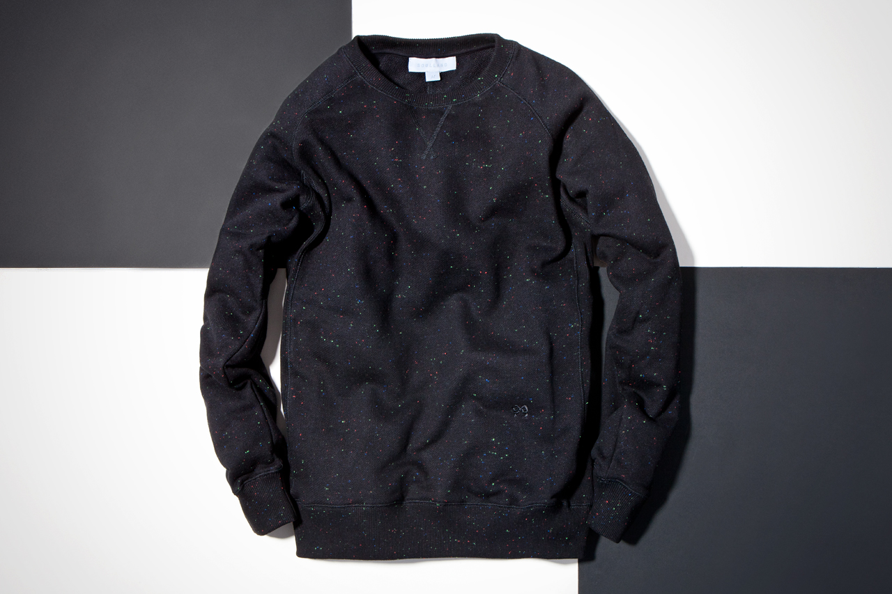 soulland 2013 spring summer anderson confetti speckle sweaters