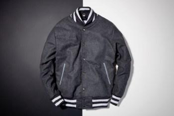 Soulland x House of Billiam Grey Wool Varsity Jacket