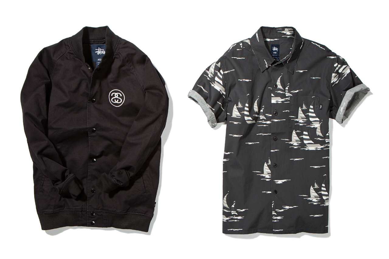 stussy 2013 spring summer apparel collection delivery 1