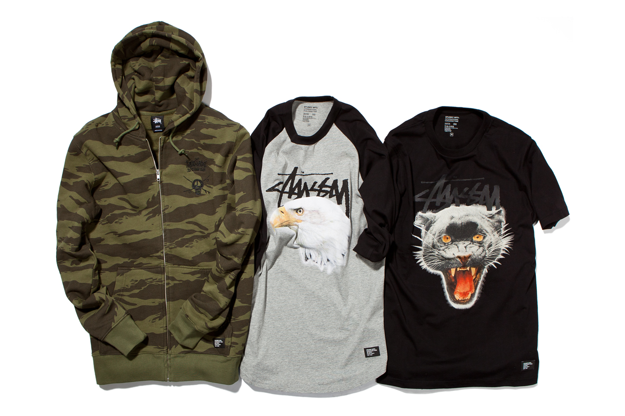 Stussy 2013 Spring/Summer Apparel Collection - Delivery 1