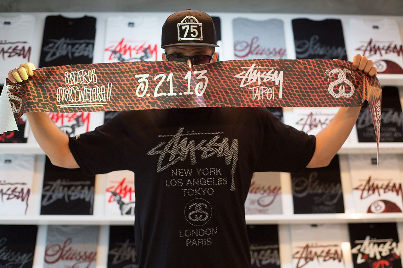 stussy 2013 spring summer taipei collection